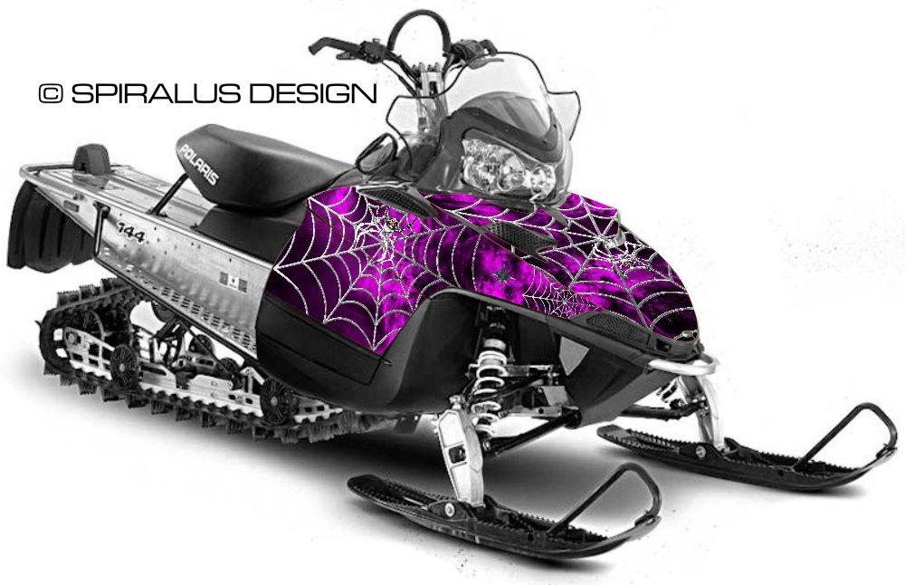 Polaris Iq Shift Rmk Webby Metal Sled Graphic