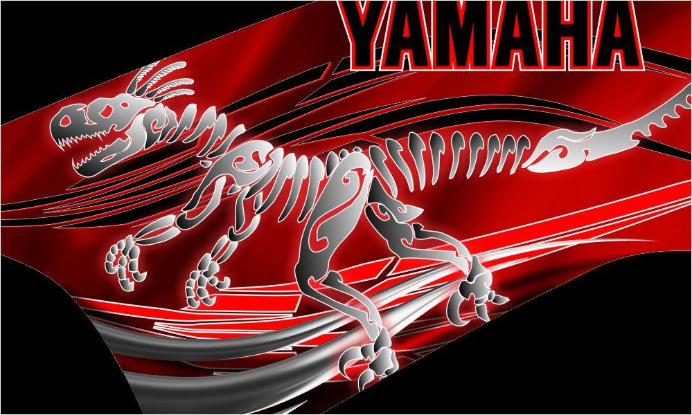 Yamaha Raptor 700 Graphic Kit Velociraptor