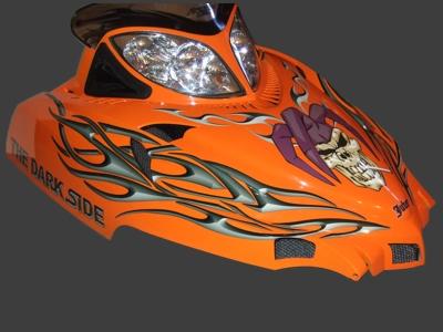 Thundercat on Tucker Hibbert Releases Monster Energy Arctic Cat Replica Graphics